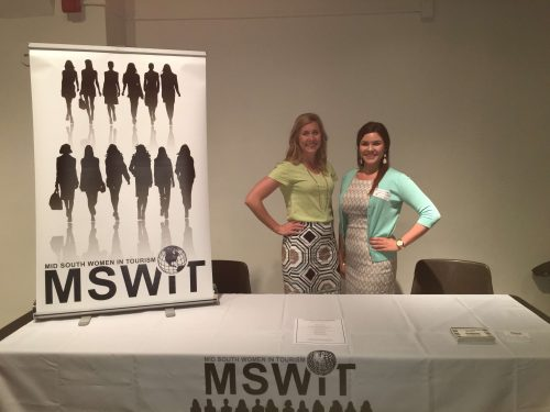 Representing MSWIT at New Orleans CVB After Hours
