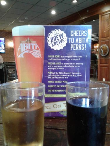 Abita Brewery Choice of delicious samples